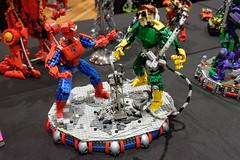 INSIDE the BRICK Darebin 2016: Spider-Man (Andrew D2010) Tags: lego spiderman doc docock ottooctavius insidethebrick darebinartsentertainmentcentre