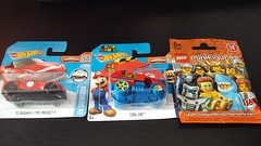 Haul (27/3/2016) (Pinder Productions) Tags: lego nintendo hotwheels haul minifigure minifigures wiiu pinderproductions