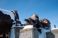 Old Nickle Mine (Dcysiv Moment) Tags: winter snow canada concrete power arctic company abandon generators nunavut generation harding rankininlet