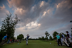 2016 Zurich Classic - Rose Tees Into Darkness (brerwolfe) Tags: sunset clouds golf louisiana darkness neworleans nola avondale pinkclouds 2016 pgatour justinrose zurichclassic tpclouisiana canon5d3 playsuspended 2016zurichclassic