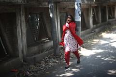 A bit of a howler (N A Y E E M) Tags: street morning portrait girl raw candid windshield unposed untouched bangladesh unedited chittagong sooc badshahmianroad