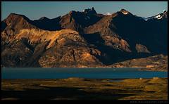 Lago Viedma al amanecer