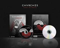 DVD - Chvrches Live in Paris (Joo Vitor Ferraz) Tags: music photoshop design dvd video artwork live adobe encore chvrches