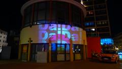 Keksdose (viernullvier) Tags: deutschland illumination dada saarland nk lindenallee neunkirchen vannutt keksdose neunkirchensaar citypavillon