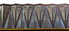 triangles // kulturpalast dresden (Das halbrunde Zimmer) Tags: roof urban architecture triangles germany deutschland dresden modernism stadt architektur ddr gdr brutalism kulturpalast urbanpoetry kupfer kulturpalastdresden ostmoderne cooperroof neumarktdresden socialisticart