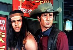 "Fabian and Robert Fuller in ""Wagon Train"" (stalnakerjack) Tags:"