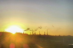 Come By Chance (django.malone) Tags: sunset canada by newfoundland oil come chance refinery