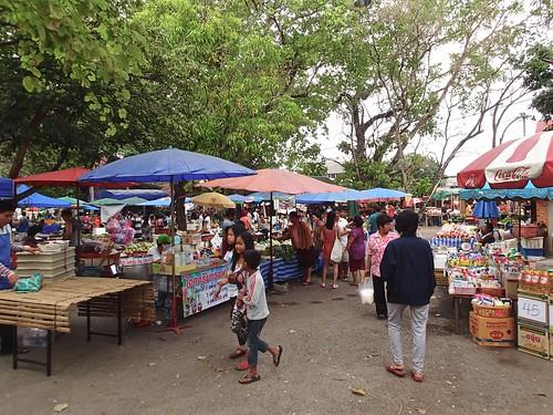 at the village market