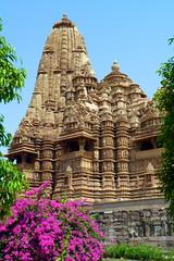 India - Madhya Pradesh - Khajuraho - Khajuraho Group Of Monuments - Kandariya Mahadeva Temple - 215 (asienman) Tags: india khajuraho madhyapradesh khajurahogroupofmonuments asienmanphotography