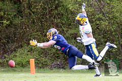 "GFL2 Hildesheim Invaders vs. Assindia Cardinals (Testspiel) 24.04.2015 051.jpg • <a style=""font-size:0.8em;"" href=""http://www.flickr.com/photos/64442770@N03/26400958240/"" target=""_blank"">View on Flickr</a>"