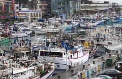 (TEIA - ) Tags: boats outdoors asia day taiwan ports eastasia suao fisheries urbanareas fishingindustry highangleview oceanscampaigntitle marinereservescampaigntitle kwcigpi