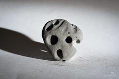 the cyclist (Claudia Knkel) Tags: face rock stone oregon speedlight sb700
