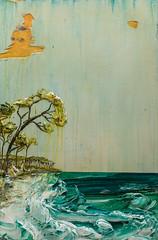 Justin Gaffrey SS24X36-2016-084 (Justin Gaffrey) Tags: trees lake art nature painting landscape paint acrylic florida dune coastal pines distressed 30a lakescape sowal justingaffrey