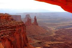 Washer Woman at Canyonlands (Jay Costello) Tags: red utah nationalpark ut arch canyonlandsnationalpark greenriver canyonlands moab canyons mesaarch washerwoman moabutah