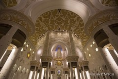 Abu Dhabi - Sheikh Zayed Grand Mosque (Rolandito.) Tags: united uae mosque emirates zayed arab u abu dhabi emirate sheikh vae scheich moschee vereinigte arabische ited zhayed