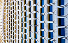 Scaled (DobingDesign) Tags: sanfrancisco california windows abstract building texture geometric lines architecture us office pattern unitedstates perspective financialdistrict repeat corporaterealestate