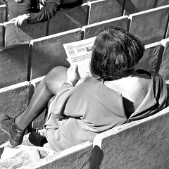 Reading the Publico Newspaper at the Park (pedrosimoes7) Tags: street people blackandwhite portugal reading newspaper blackwhite gente lisbon journal read cc creativecommons streetphoto jornal ler lire publico fotojornalismo lendo readingnewspaper gentedeportugal portuguesepeople lisant jornalopublico fotoderua lendojornal caloustegulbenkianpark lisantlejournal publiconewspaper publicojournal photojpunalism