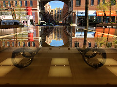 Thru the glass (IamJomo) Tags: camera apple maryland applestore brow jomo montgomerycounty takenwithaniphone iphoneography iphone6 smallworldphotos jomophoto