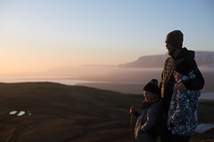 Summer is coming (Dalla*) Tags: above sunset portrait people nature kids clouds children outside outdoors golden iceland spring hiking top father hike reykjavik goldenhour sons sidelight ulfarsfell wwwdallais mtulfarsfell