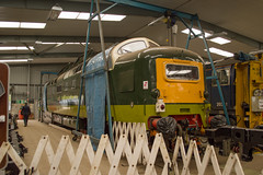 D9015 Tulyar (MitchellTurnbull) Tags: photography nikon diesel hill rail railway april locomotive society 23rd barrow preservation dps roundhouse naper 2016 deltic d3200 tulyar 55015 d9015