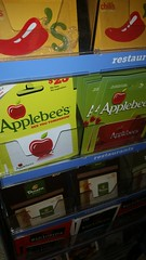 Applebee's gift cards (cbb4104) Tags: applebees giftcards