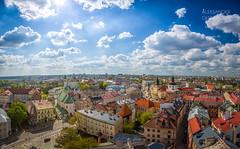 Home (Aleksander Gowacki Photography) Tags: city sky nature architecture clouds landscape spring colorful cityscape ngc poland polska oldtown lublin