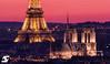 Old ladies IV (A.G. Photographe) Tags: sunset paris france french nikon europe eiffeltower sigma notredame toureiffel ag bluehour capitale français parisian anto xiii parisien cathédralenotredamedeparis d810 150600 antoxiii agphotographe