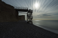 Burling Gappier (Alex Bamford) Tags: longexposure sussex erosion moonlight burlinggap chalkcliffs coastalerosion