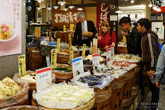 20160413-57-Nishiki Dori food market (Roger T Wong) Tags: travel people food holiday japan kyoto market produce canonef1740mmf4lusm stalls 2016 nishikidori canon1740f4l canoneos6d rogettwong