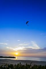 Beach (navidmaz) Tags: sunset cloud sun beach nature water clearsky