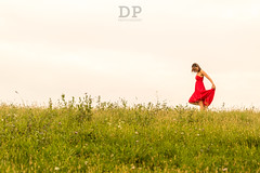 A Ballet With Nature (Daniele Pauletto) Tags: sunset red nature girl beauty smile fashion happy freedom model ballerina tramonto dress outdoor moda free sorriso rosso bellezza ragazza happyness felicità gnocca modella dpphotography
