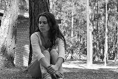 autorretrato (joice.ruiz) Tags: mujer pensativa