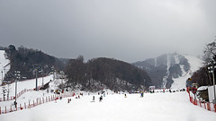 Korean Ski Slope (Johnnie Shene Photography(Thanks, 2Million+ Views)) Tags: park travel winter people white mountain snow ski colour macro sports horizontal canon lens photography eos rebel daylight dc interesting travels scenery kiss day skiing place exercise image outdoor snowy famous crowd scenic sigma tranquility ground scene korea hobby resort korean area gradient recreation 1770 effect tranquil slope freshness crowded activities pheonix t3i snowed x5 snows 강원도 스키 gangwondo fragility 284 600d 1770mm 스키장 평창 pyeongchang f284