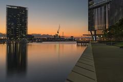Docklands Sunset (T. Flack) Tags: sunset sony voigtlander australia melbourne victoria ii docklands 40mm adaptor ultron a7r slii metabones