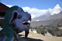 Ama Dablam (AnaMaria_au) Tags: nepal himalayas amadablam tengboche chukhung tengbocheentrance