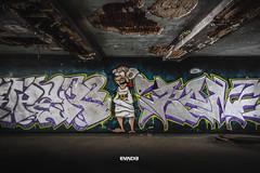 Wall art. (@LevesquePL) Tags: art graffiti hall haunted explore asylum urbex abandonedplaces urbandexplore whyiexplore