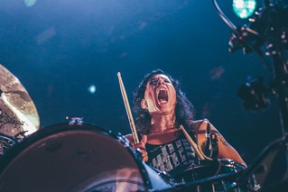 Matt And Kim at Manchester Arena // Shot by Joe Sheridan