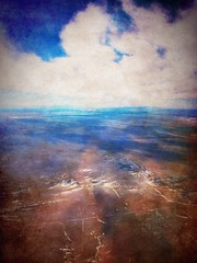 Flying into Albuquerque