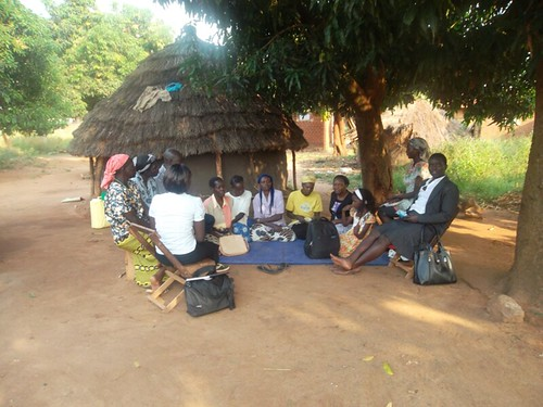 Home visit and follow up assessment of women who participated in the GSP group sessions