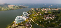 Garden by the bay (Patrick Foto ;)) Tags: ocean park city travel sea hub port marina river garden landscape bay boat sand singapore asia dam air south ships transport environmental aerial cargo east container business pollution transportation malaysia oil environment petrol southeast spill sg naval straits import trade gargen economy merchant carrier freight tanker malacca vessels export polluted petrochemicals