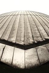 Steel Dome (Job I) Tags: monochrome lines architecture germany grey steel pale dome nrw planetarium planetary ruhrgebiet bochuhm