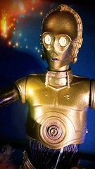 I am C-3PO, human/cyborg relations (custombase) Tags: starwars c3po 6inch revoltech