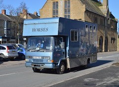 R631 TEG: Leyland-DAF 45 horse box (chucklebuster) Tags: 45 leyland daf horsebox r631teg