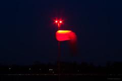 WIndsock (Al Henderson) Tags: nightphotography england airport unitedkingdom bedfordshire gb windsock cranfield egtc
