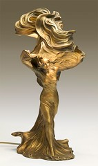 Loe Fuller (The Dancer) , 1900 // by Raoul Franois Larche (mike catalonian) Tags: sculpture artnouveau 1900 1900s loefuller raoulfranoislarche