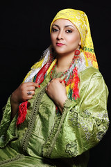 Maroccan traditional clothes (Cristina Tiurean Photography) Tags: portrait woman classic girl beautiful beauty fashion lady canon studio glamour dress african traditional culture clothes vogue marocco tradition maroccan