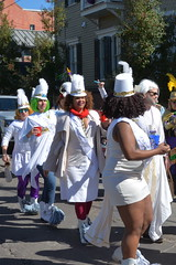 Socit de Ste. Anne 110 (Omunene) Tags: costumes party fun neworleans parade alcohol mardigras partytime faubourgmarigny licentiousness neworleansmardigras walkingparade socitdesteanne mardigras2016 alcoholfueledlicentiousness roylstreet
