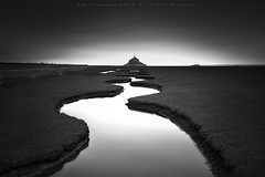 Mont Saint Michel (FredConcha) Tags: longexposure france river nikon pb lee montsaintmichel d800 blackandwith fredconcha