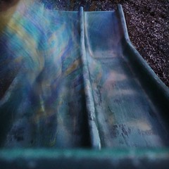 Walking down the slide long exposure. (Eric Dockter) Tags: g4 lg instagram ifttt