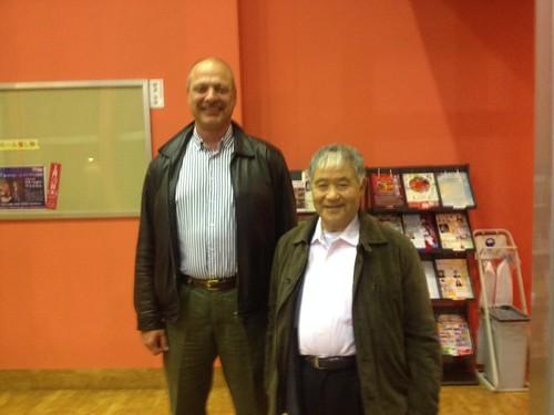 Meeting Higaonna Morio Sensei
